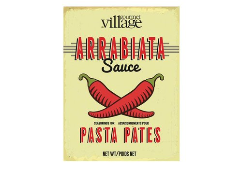 Gourmet Du Village Retro Arrabiata Pasta Sauce Mix