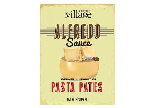 Gourmet Du Village Retro Alfredo Sauce Recipe Box