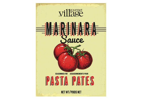 Gourmet Du Village Retro Marinara Pasta Recipe Box