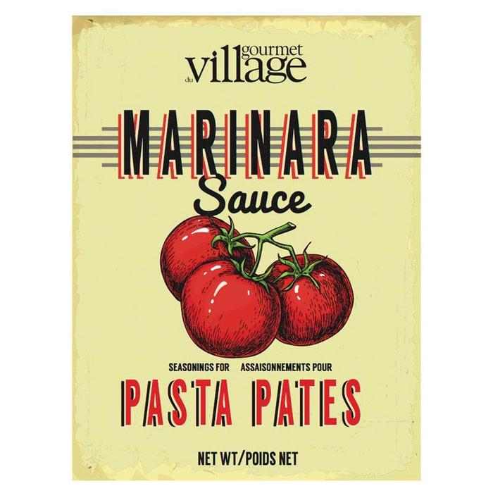 Retro Marinara Pasta Recipe Box