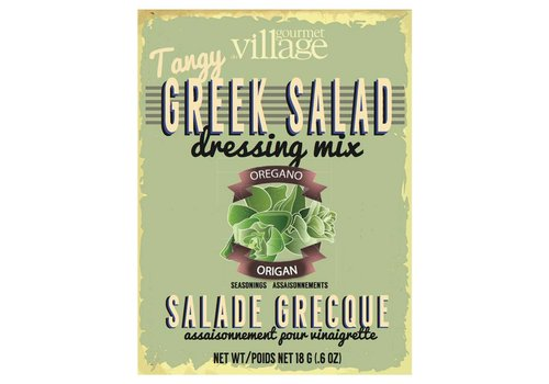 Gourmet Du Village Retro Greek Salad Recipe Box