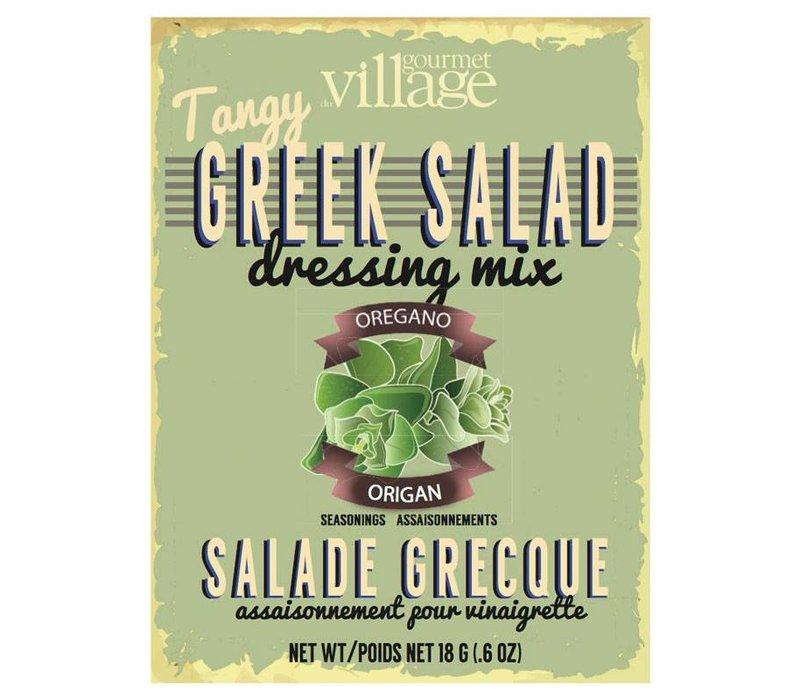 Retro Greek Salad Recipe Box