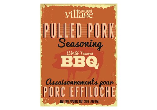 Gourmet Du Village Seasoning Recipe Box Pulled Pork