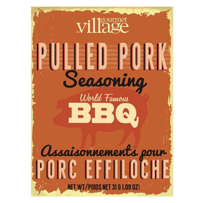 Seasoning Recipe Box Pulled Pork