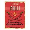 Gourmet Du Village Retro Recipe Box Chili Seasoning