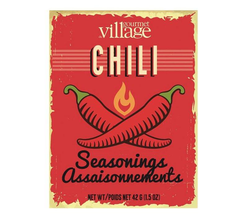 Retro Recipe Box Chili Seasoning