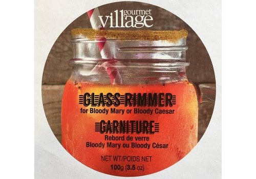 Gourmet Du Village Glass Rimmer Tin Bloody Mary