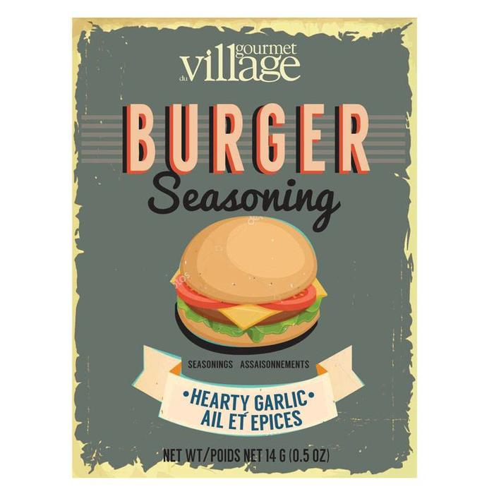 Retro Burger Seasoning Hearty Garlic