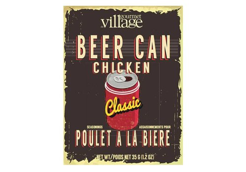 Gourmet Du Village Retro Beer Can Chicken Seasoning