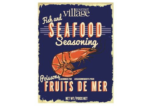 Gourmet Du Village Retro Fish and Seafood Seasoning