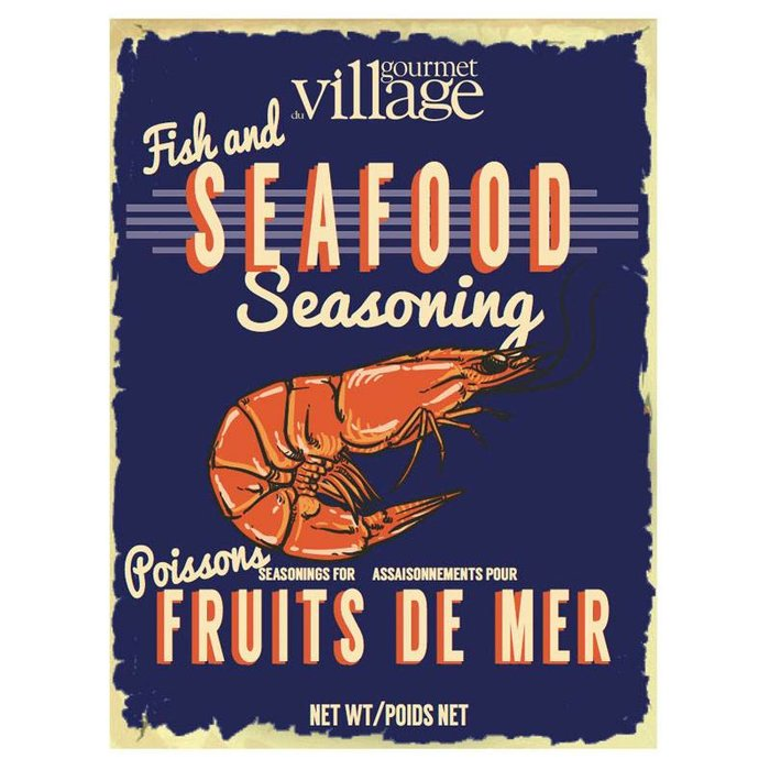 Retro Fish and Seafood Seasoning