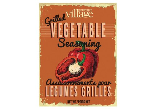 Gourmet Du Village Retro Grilled Vegetable Seasoning