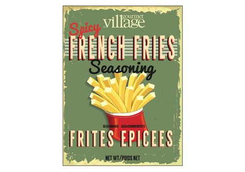 Gourmet Du Village Retro Spicy French Fries Seasoning