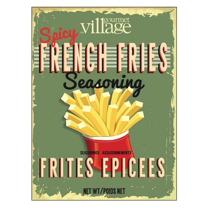 Retro Spicy French Fries Seasoning