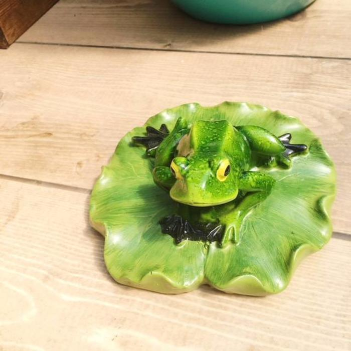 Green Frog Ornament