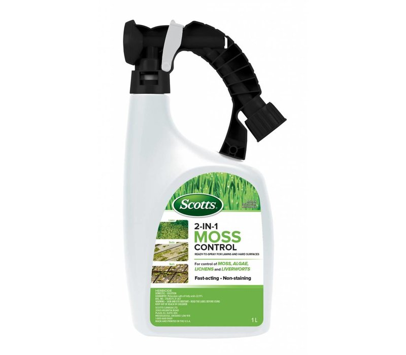 2 In 1 Moss Control