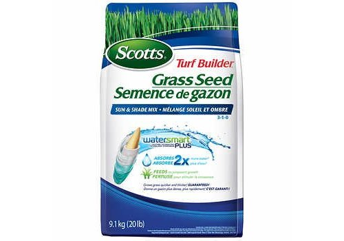 Scotts Turf Builder Coated Grass Seed Sun & Shade Mix 1.4kg