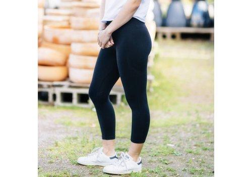 Green T's Basics Bamboo 3/4 Length Legging