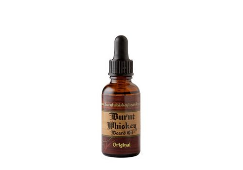 Burnt Whiskey Beard Co Original Unscented Beard Oil 30ml