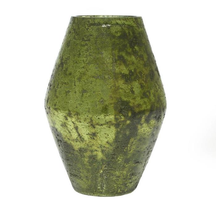 """Viper Vase Green 5.5"""" x 7.75"""""""