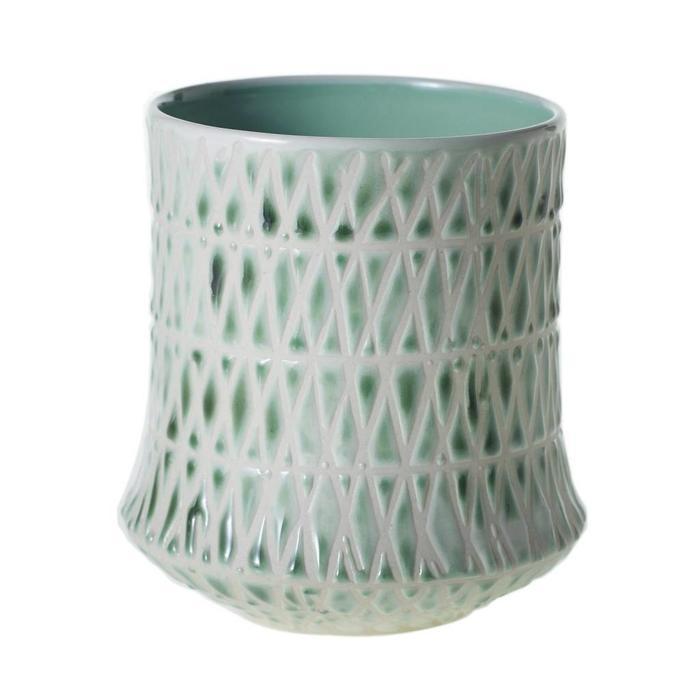 """Fremont Vase Mint 3.75"""" x 4"""""""