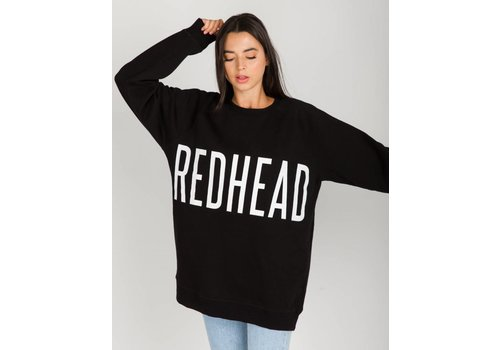 Brunette The Label Redhead Big Sister Oversized Crew