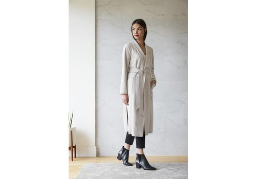 Rebecca King Suede Trench
