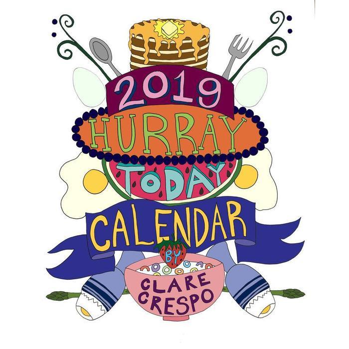 Clare Crespo 2019 Calendars