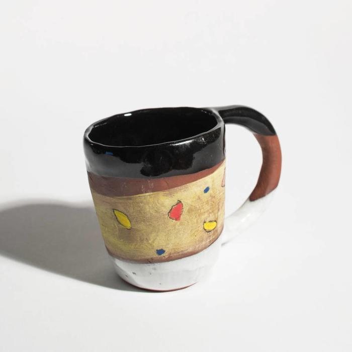 Shino Mug Black/Yellow
