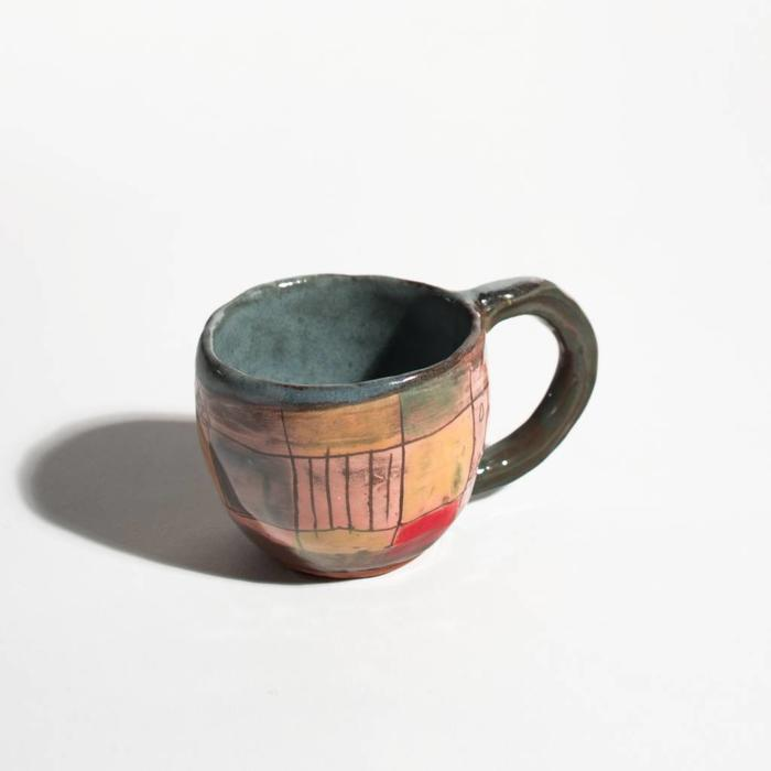 Shino Takeda Patchwork Mugs Multi