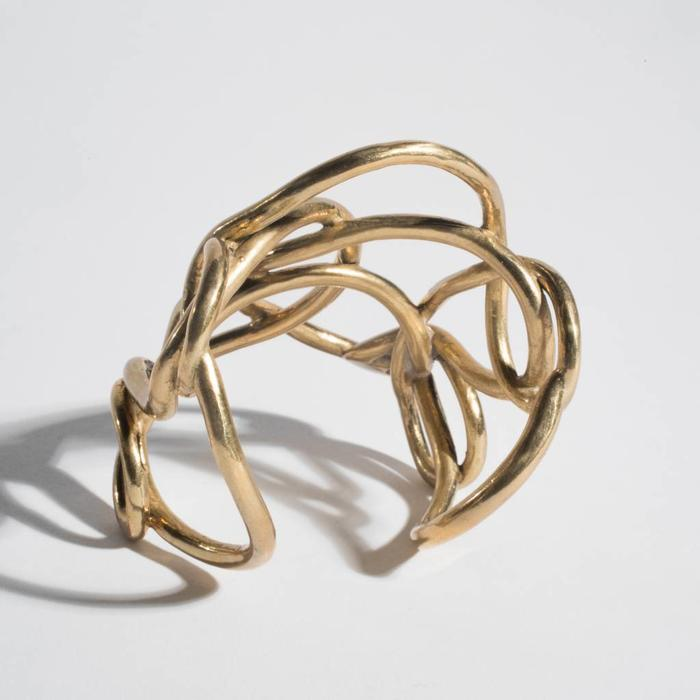 Aesa Solar Knot Cuff (Large Cuff)