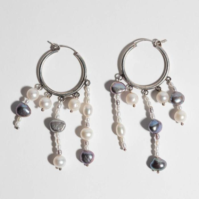 Unearthen Hoop Earrings