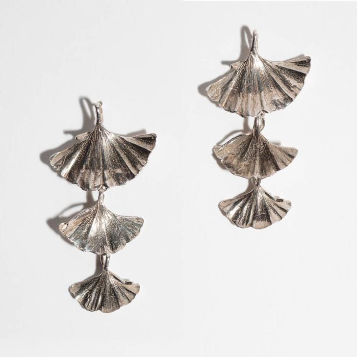 Saint Claude Ginkgo Earrings