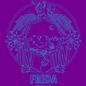 Freda Marfa Purple Tote
