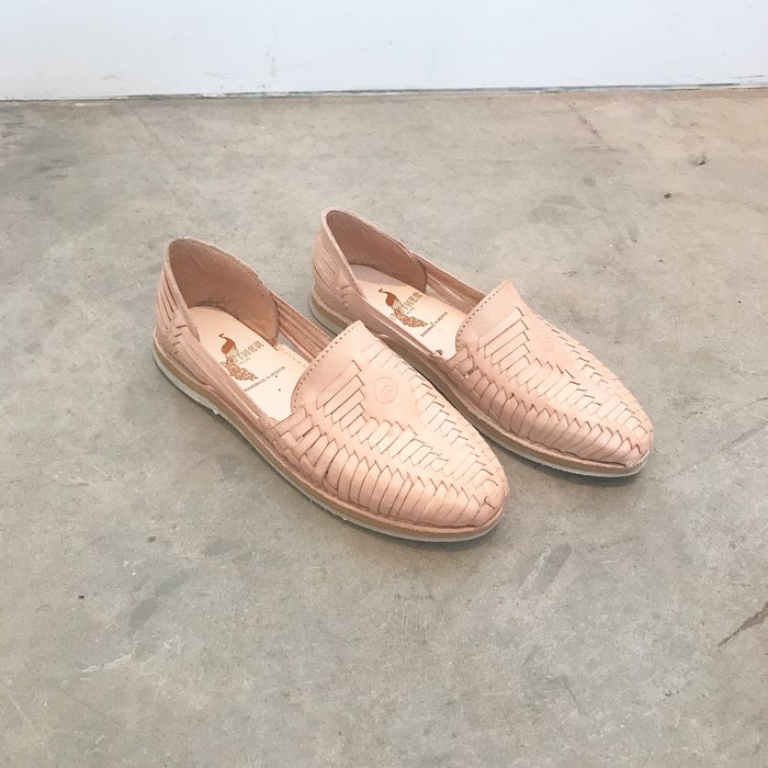 Brother Vellies Huaraches in Blush
