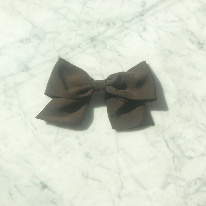 Bianca and Red Small Black Bow