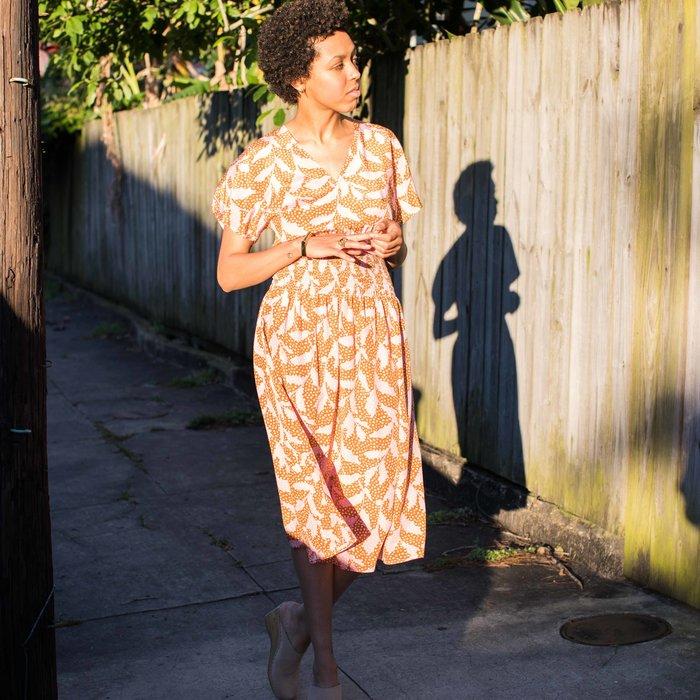 No. 6 Simona Smocked Waist Dress