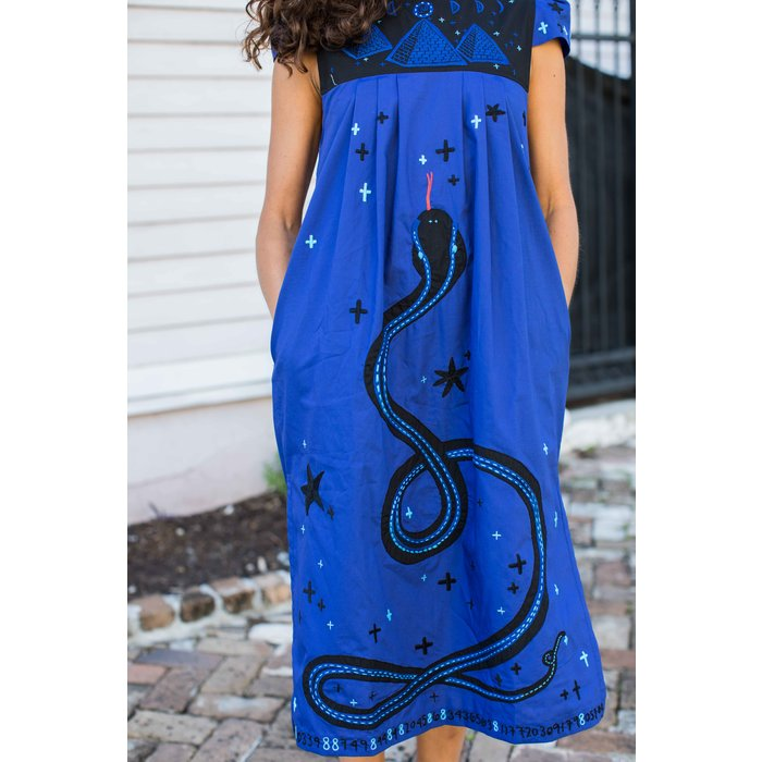 Sara Ruffin Costello Cosmic Serpent Dress