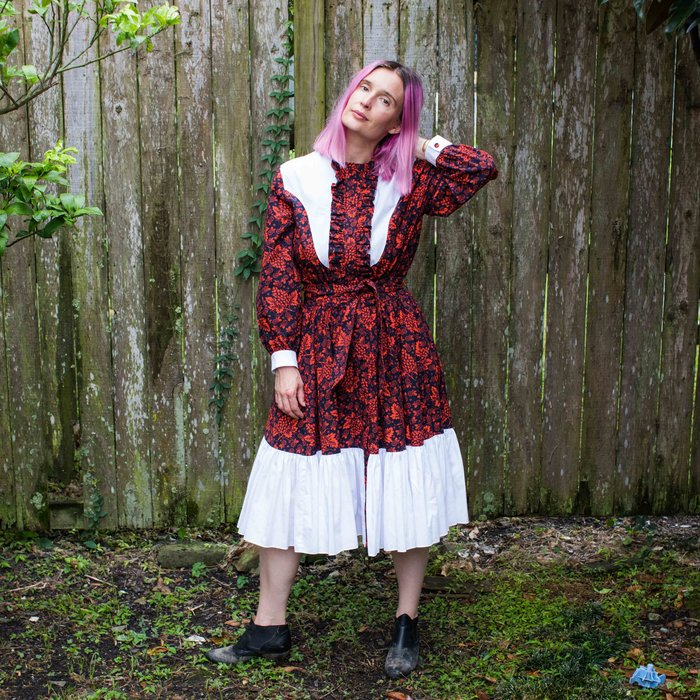 Batsheva- Western Dress Red Grape