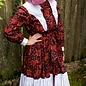 Batsheva- Western Dress Red Grape