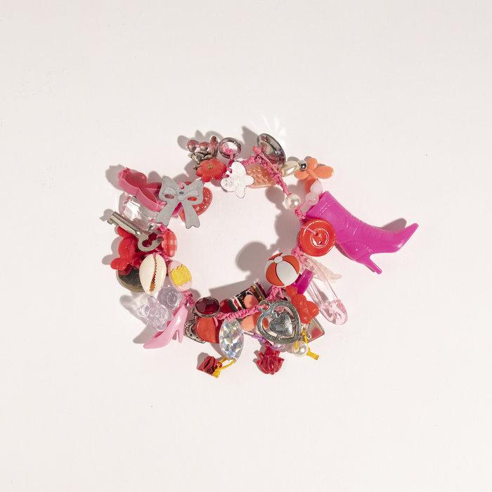 Aurelia Cotton Charm Bracelet