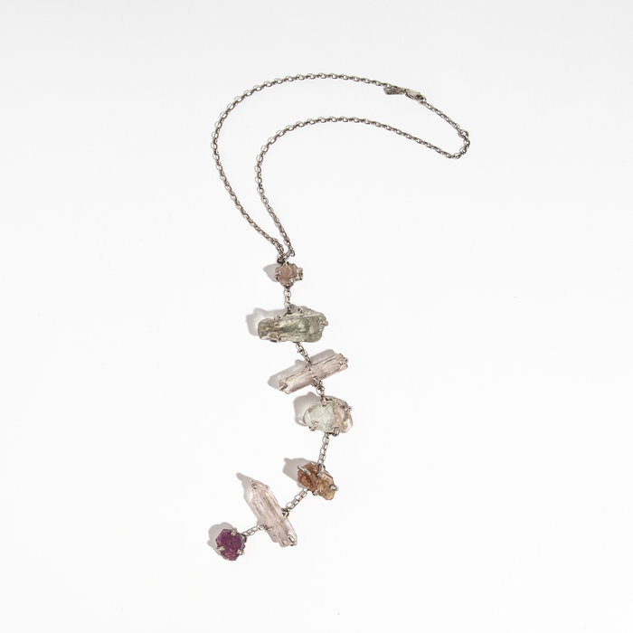 Unearthen Assorted Crystals Necklace