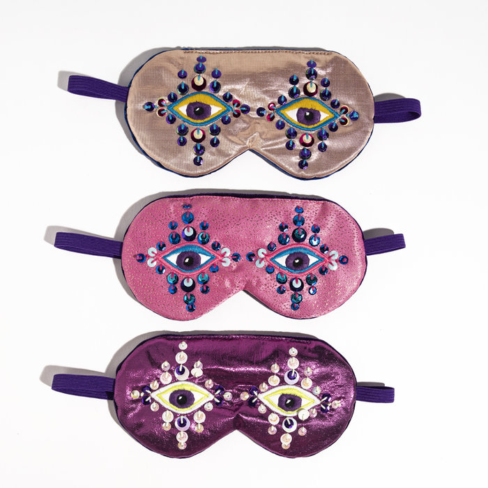 Maria Sandhammer Metallic Sleep Masks