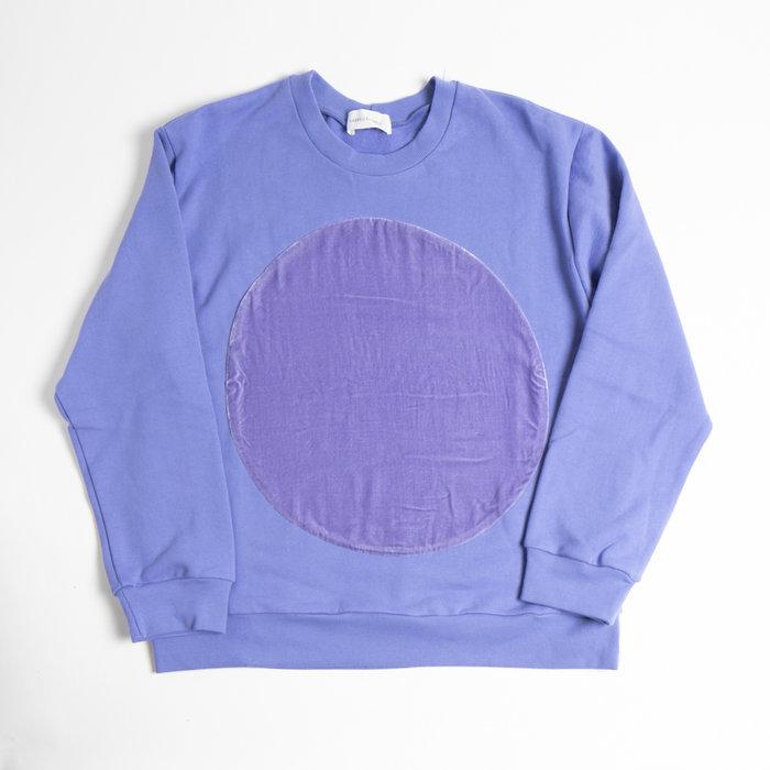 Correll Correll - Velvet Circle Sweatshirt