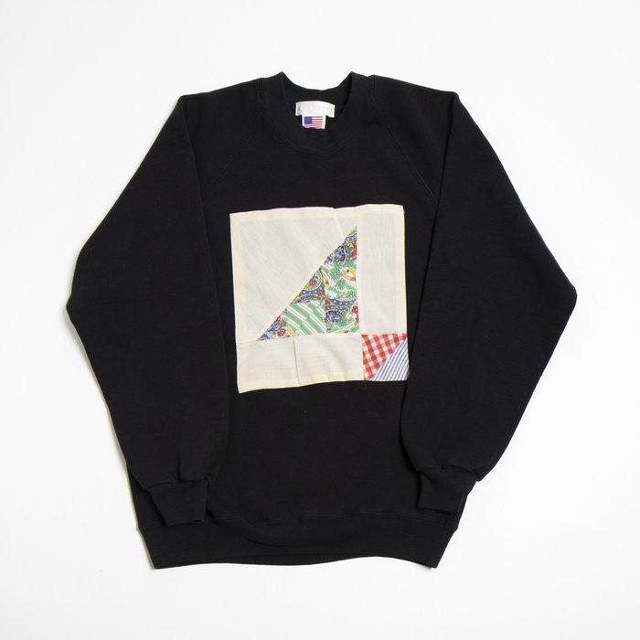 Carleen- Patchwork Vintage Sweatshirt