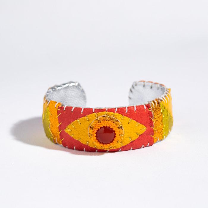 Robin Mollicone Eye Cuff - Carnelian