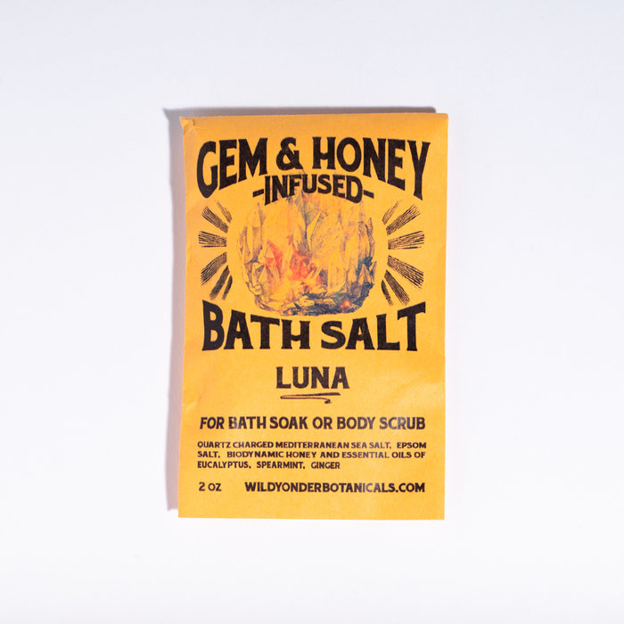 Gem & Honey Bath Salts - Luna