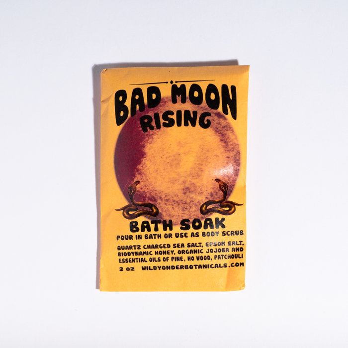 Wild Yonder Botanicals Bad Moon Rising Bath Salts