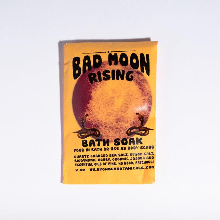 Wild Yonder Botanicals Bad Moon Rising Bath Salts