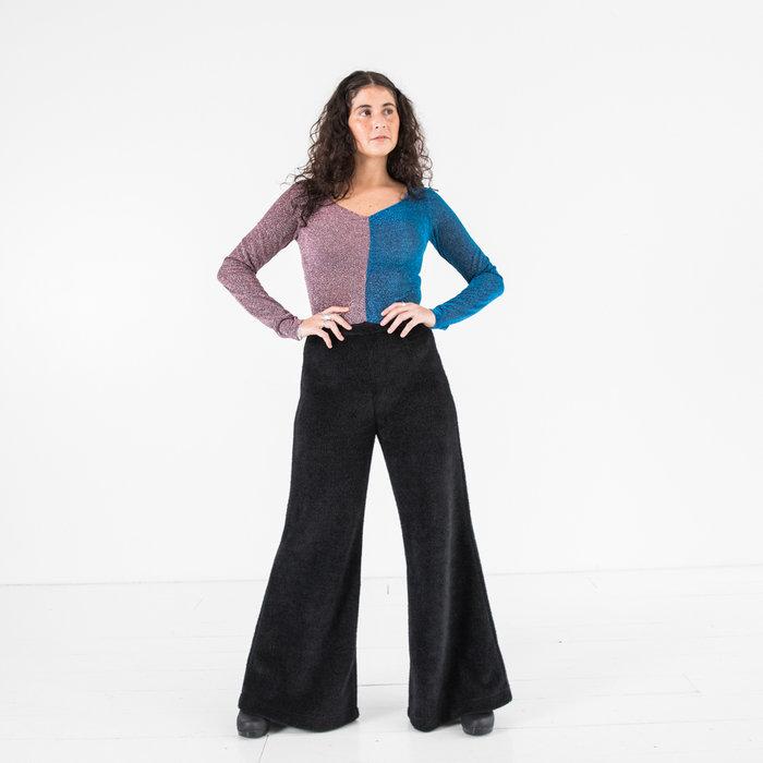 Kurt Lyle - Queenie Bodysuit Purple/Turquoise
